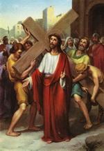 Ісус бере Хрест на свої Рамена