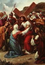 Ісус зустрічається зі своєю матір'ю
