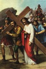 Симон Киринеєць помагає Ісусові нести Хрест