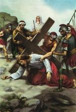 Вероніка обтирає лице Ісуса Христа