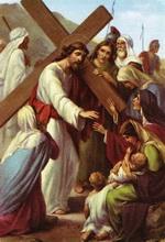 жінки плачуть над терплячим Ісусом